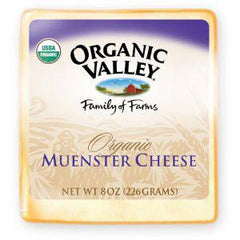 ORGANIC VALLEY ORGANIC MUENSTER CHEESE