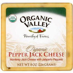 ORGANIC VALLEY ORGANIC PEPPER JACK CHEESE
