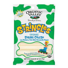 ORGANIC VALLEY ORGANIC STRINGLES MOZZARELLA CHEESE