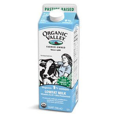 ORGANIC VALLEY REDUCED FAT 2% MILK
