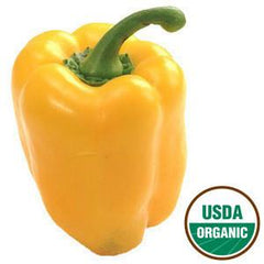 ORGANIC YELLOW PEPPER FROM USA