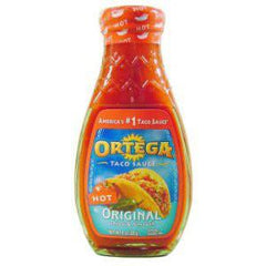 ORTEGA ORIGINAL HOT TACO SAUCE
