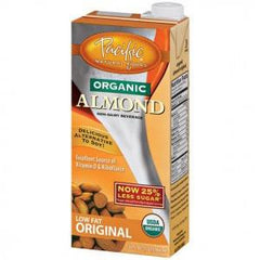 PACIFIC ORGANIC LOW FAT ORIGINAL ALMOND MILK
