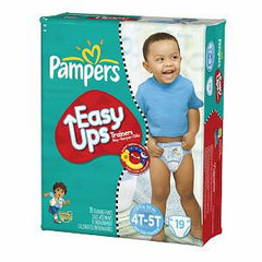 PAMPERS EASY UPS TRAINERS BOYS 4T-5T