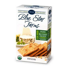 PARTNERS BLUE STAR FARMS ORGANIC MULTIGRAIN CRACKERS