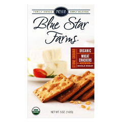 PARTNERS BLUE STAR FARMS ORGANIC WHEAT CRACKERS