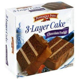 PEPPERIDGE FARM 3 LAYER CAKE - CHOCOLATE FUDGE