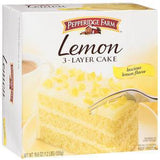 PEPPERIDGE FARM 3 LAYER CAKE - LEMON