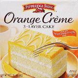 PEPPERIDGE FARM 3 LAYER CAKE-  ORANGE CREAM