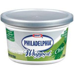 PHILADELPHIA WHIPPED CHIVE CREAM CHEESE