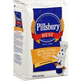 PILLSBURY UNBLEACHED ALL PURPOSE FLOUR