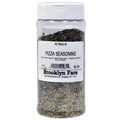 BROOKLYN FARE ALL NATURAL PIZZA SEASONING