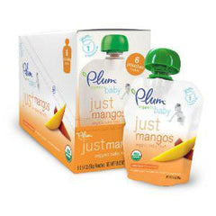 PLUM ORGANIC JUST MANGO BABY FOOD