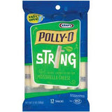 POLLY-O STRING 2% MILK MOZZARELLA CHEESE