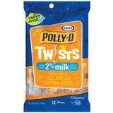 POLLY-O TWISTS 2% MOZZARELLA CHEESE