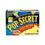 POP SECRET XTRA BUTTER POPCORN