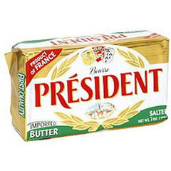 PRESIDENT SALTED BUTTER