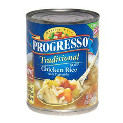 PROGRESSO TRADITIONAL CHICKEN RICE W VEGETABLES SOUP