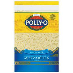 POLLY-O MOZZARELLA CHEESE WHOLE MILK