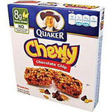 QUAKER CHEWY CHOCOLATE CHIP GRANOLA