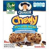 QUAKER CHEWY COOKIES & CREAM OATMEAL