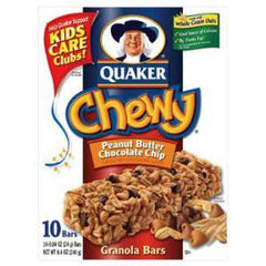 QUAKER CHEWY PEANUT BUTTER CHOCOLATE CHIP