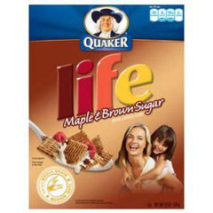 QUAKER LIFE MAPLE BROWN SUGAR CEREAL
