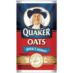 QUAKER OAT QUICK 1 MINUTE OATMEAL