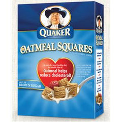 QUAKER SQUARES BROWN SUGAR OATMEAL