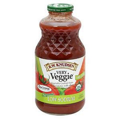 R.W. KNUDSEN ORGANIC VERY VEGGIE LOW SODIUM JUICE