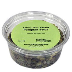 BROOKLYN FARE NATURAL RAW SHELLED PUMPKIN SEEDS