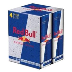 RED BULL ENERGY DRINK - 4 PACK 8.4 FL OZ EACH CAN