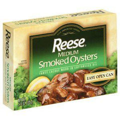REESE MEDIUM SMOKED OYSTERS