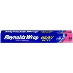 REYNOLDS ALUMINUM FOIL HEAVY DUTY WRAP - 50 SQ FT
