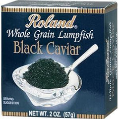 ROLAND WHOLE GRAIN LUMPFISH BLACK CAVIAR
