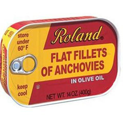 ROLAND FLAT FILLETS OF ANCHOVIES IN OLIVE OIL