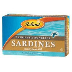 ROLAND SARDINES IN SOYBEAN OIL
