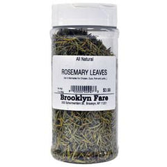 BROOKLYN FARE ALL NATURAL ROSEMARY LEAVES