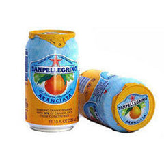SANPELLEGRINO ARANCIATA ROSSA SPARKLING BLOOD ORANGE - CAN