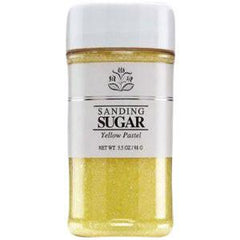 INDIA TREE SANDING SUGAR YELLOW PASTEL