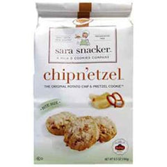 SARA SNACKER CHIPN'ETZEL THE ORIGINAL POTATO CHIP & PRETZEL COOKIE
