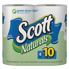 SCOTT NATURAL TOILET PAPER 4 PACK