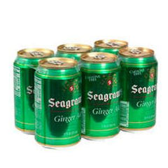 SEAGRAM GINGER ALE - 6 PACK