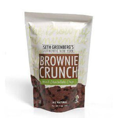 SETH GREENBERG'S AUTHENTIC NEW YORK BROWNIE CRUNCH MINT CHOCOLATE CHIPS