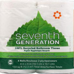 SEVENTH GENERATION NATURAL UNBLEACHED BATH TISSUE 4 PACK