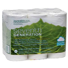 SEVENTH GENERATION 100% RECYCLED BATHROOM TISSUE - 12 ROLL
