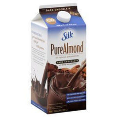 SILK PURE ALMOND DARK CHOCOLATE - ALL NATURAL ALMONDMILK