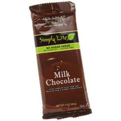 SIMPLY LITE MILK CHOCOLATE - 45% CACAO