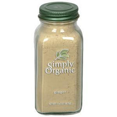 SIMPLY ORGANIC GINGER GROUND