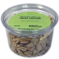 BROOKLYN FARE NATURAL SLICED ALMONDS